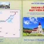Thiệp mời tham dự Thánh Lễ Đặt Viên Đá Đầu Tiên tại nhà thờ Đăk Kơđem (01/06/2019)