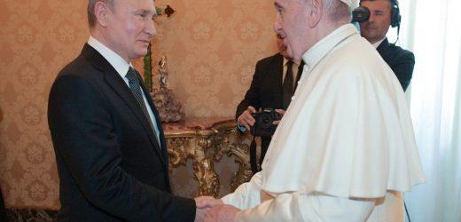 ĐTC Tiếp Kiến Tổng Thống Putin Của Nga