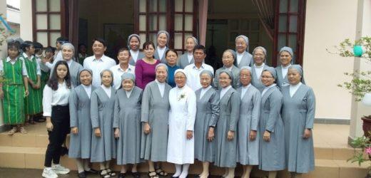 Thánh Lễ Tạ Ơn Ngân Khánh Tu Dòng Của Sr.Thérèse Nguyễn Thị Loan, SPC