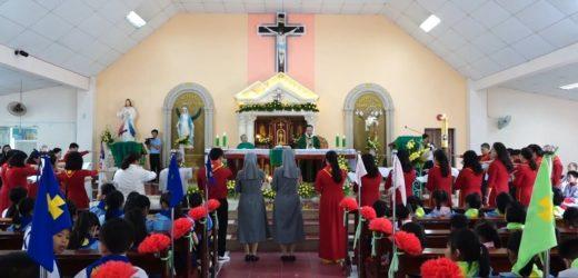 Thánh Lễ Khai Giảng Năm Học Giáo Lý 2019 -2020, Giáo Xứ Võ Lâm – Gp Kon Tum