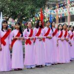 Trường Cao đẳng Hoà Bình Xuân Lộc: Tốt Nghiệp Và khai Giảng