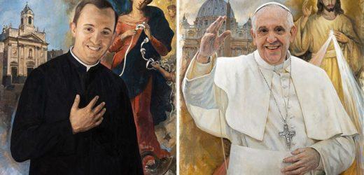 """Vatican Phát Hành Tem Thư Mừng Kim Khánh Linh Mục Của Đức Giáo Hoàng: """"Linh Mục Trẻ Bergoglio"""" Và """"Đức Giáo Hoàng Phanxicô"""""""