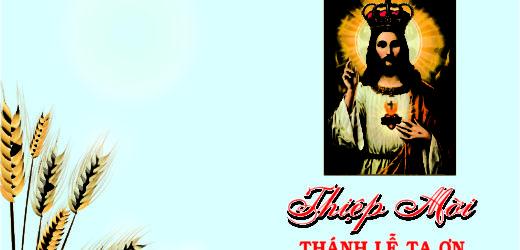 Thiệp Mời Mừng Bổn Mạng Giáo Xứ Phú Mỹ