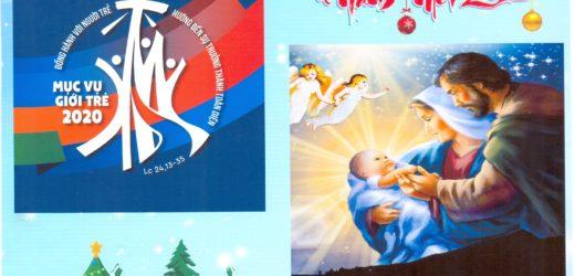 Thiệp Chúc Giáng Sinh Và Năm Mới Của Đức Cha Aloisiô