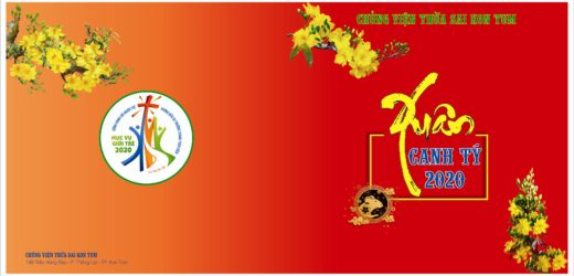 Chủng Viện Thừa Sai Kon Tum Chúc Tết 2020