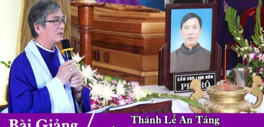 Bài Giảng Của Cha Nicola Vũ Ngọc Hải Trong Thánh Lễ An Táng Thầy Phêrô Nguyễn Đình Phục