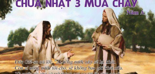 Dẫn Lễ Và Lời Nguyện – CN 3 MC–Năm A