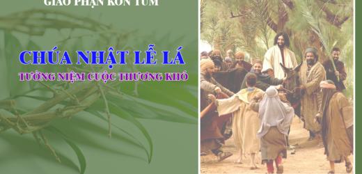 Hai Sắc Thái Của Mầu Nhiệm Vượt Qua(05.04.2020 – Chúa Nhật Lễ Lá – Năm A)