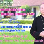 Giáo Phận Kon Tum: Mừng Bổn Mạng Đức Cha Alôisiô Nguyễn Hùng Vị