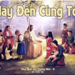 Nước Trời Là Điều Bí Mật (05.07.2020 – Chúa Nhật XIV Thường Niên – Năm A)