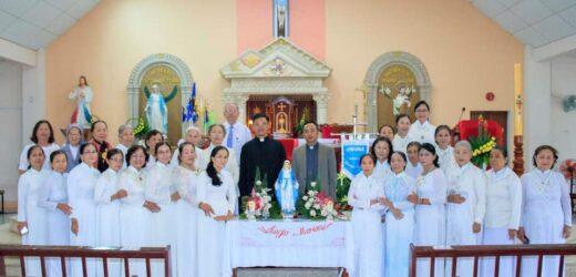 Giáo Xứ Võ Lâm: Legio Mariae Mừng 8 Hội Viên Mới