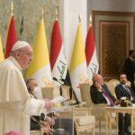 Tông Du Iraq: Diễn Văn (1) Trước Chính Quyền, Xã Hội Dân Sự Và Ngoại Giao Đoàn