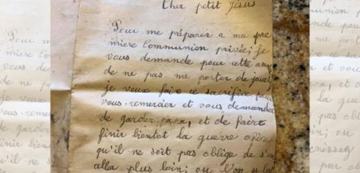 Lá Thư Bé Trai Gửi Chúa Giêsu Được Tìm Thấy Hơn 80 Năm Sau