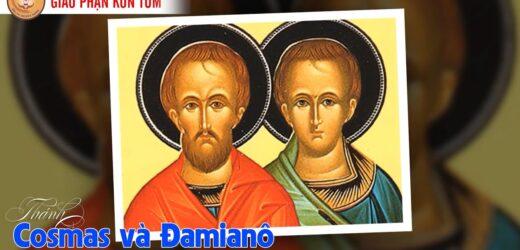 Thánh Cosma và Đamianô, Tử Đạo (Ngày 26/09)